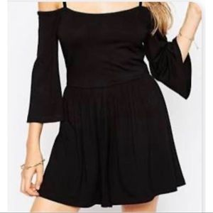 Super Cute ASOS Cold Shoulder Long Sleeves Romper